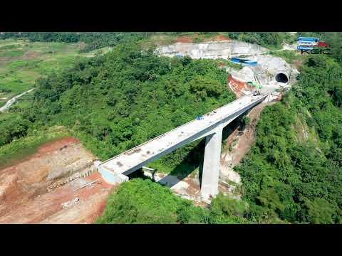 Struktur Jembatan Tertinggi Proyek KCJB