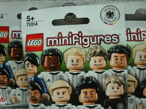 Lego Dfb Minifiguren 71014 Em Figuren Deutsch Youtube