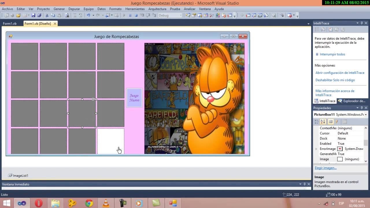 Video Tutorial De Como Crear Un Rompecabezas En Visual
