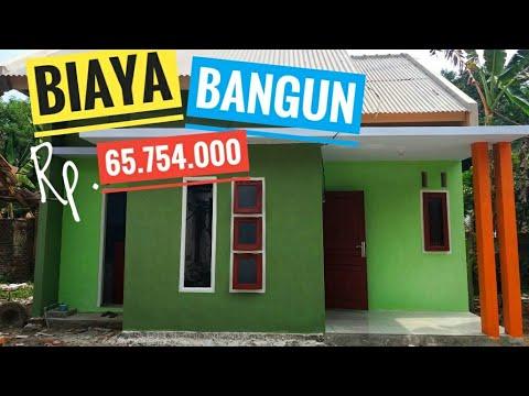 Hasil Jadi Bangun Rumah Minimalis Sederhana Di Desa Biaya Rp 65 754