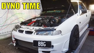 WILL IT START? 600HP COSWORTH EJ257 FORESTER - CRAZY CARROT