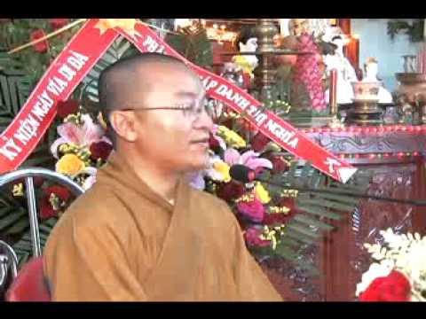 Kinh niệm Phật ba la mật 8: Mười hạnh của người tu Tịnh Độ (Phần 1) (13/12/2008) Thích Nhật Từ