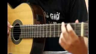 Thật lòng anh xin lỗi - Guitar cover by Cường Elvy