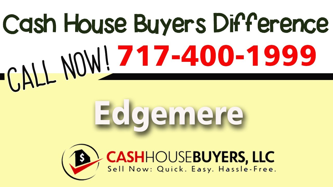Cash House Buyers Difference in Edgemere MD | Call 7174001999 | We Buy Houses