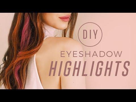 ipsy Mane Event | How To: DIY Eyeshadow Highlights