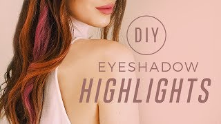ipsy Mane Event | How To: DIY Eyeshadow Highlights