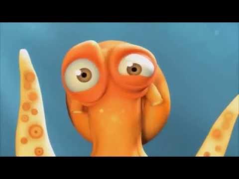 Никогда не сдавайся - осьминоги - Короткометражки от Pixar