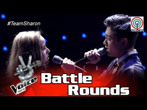 The Voice Teens Philippines Battle Round: Heather vs. Jeremy - Sana Maulit Muli