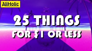 Best cheapest things: 25 Products for $1 or Less from #AliExpress + GIVEAWAY!!!   Aliholic
