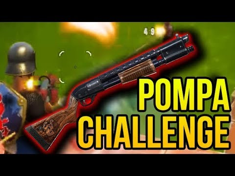 POMPA CHALLENGE W FORTNITE!