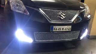 Glamour Car Accessories | Bangalore | Maruti Suzuki Baleno | Fog Lamp DRL | 9986031792