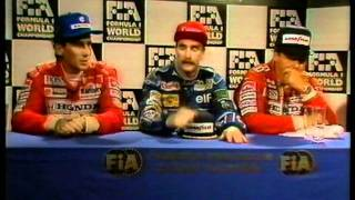 Ayrton Senna Calls Prost A Coward.mpg
