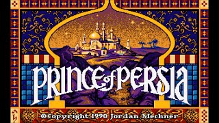 Prince Of Persia Gameplay / Walkthrough / Playthrough / Longplay - MS-DOS / PC (1990)