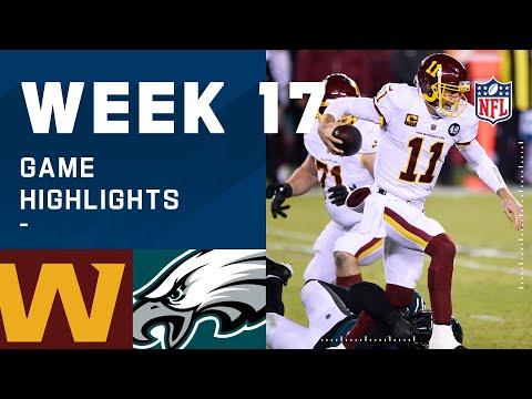 Washington Football Team vs. Eagles Week 17 Highlights | NFL 2020