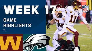 Washington Football Team vs. Eagles Week 17 Highlights | NFL 2020