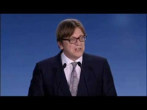European Elections 2014: -  Guy VERHOFSTADT(ALDE, BE),