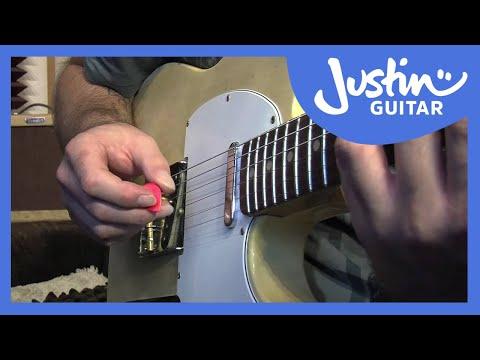 12 Bar Shuffle Picking Techniques - Blues Rhythm Guitar Lessons [BL-202]
