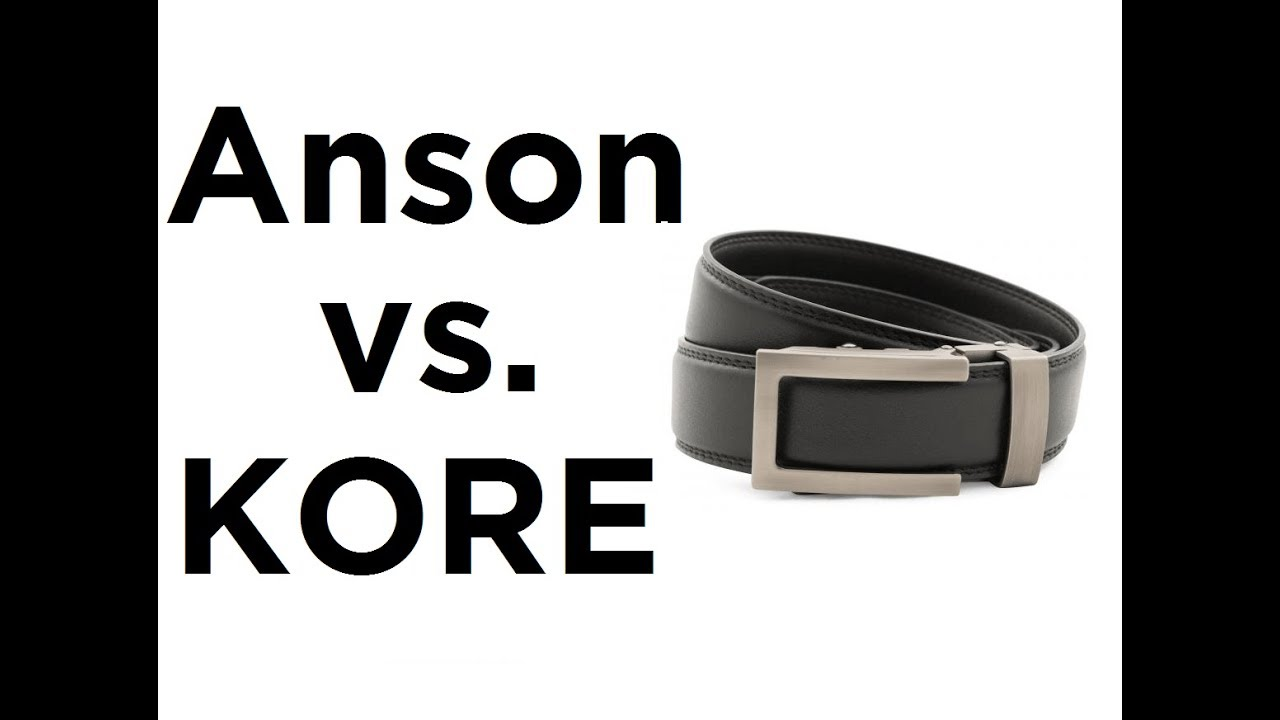 Anson Versus Kore Who Has The Best Belts Youtube Which belt is best anson vs kore vs slidebelts. anson versus kore who has the best belts