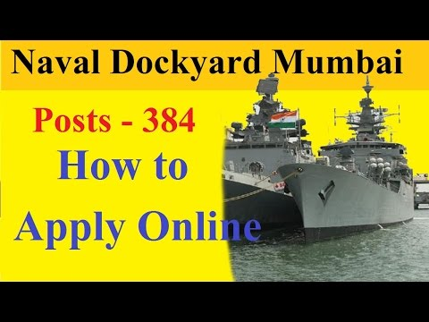 How to Apply Online for group C Trademan | Naval Dockyard Mumbai | Indian Navy |