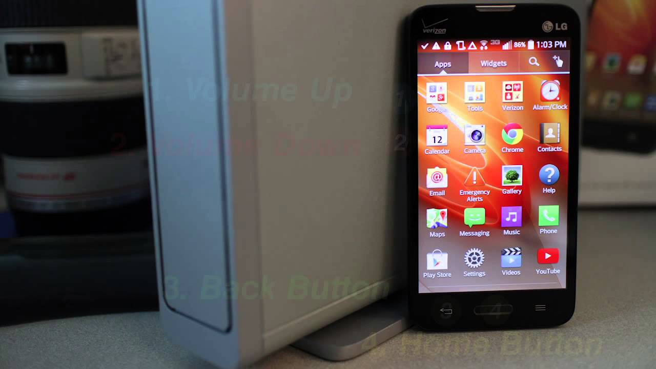 Skipping and Bypassing Android Activation - LG Optimus Exceed 2 No Contract  Cell Phone WiFi Only