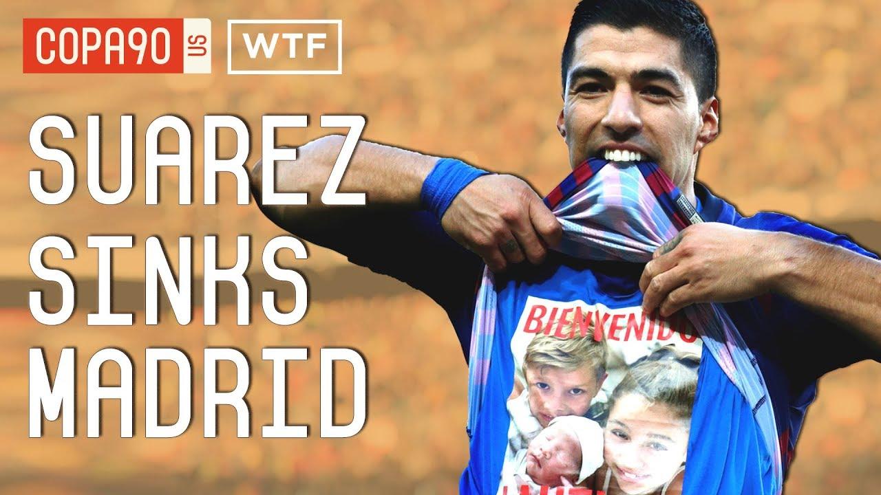 f15c79505 Real Madrid vs. Barcelona  Luis Suarez Gets Lopetegui Fired