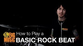 How to Play - A Basic Rock Beat