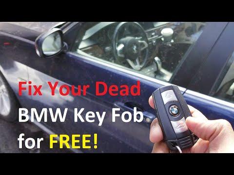 Fix Your DEAD BMW Keyfob Quick Easy & Free DIY