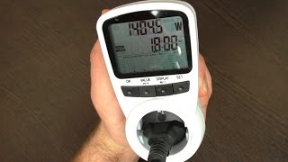 ВАТТМЕТР С АЛИЭКСПРЕСС (TS-1500 Digital Energy Meter)