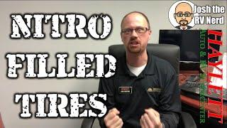 Nitro vs Air Filled RV Tires with Josh the RV Nerd