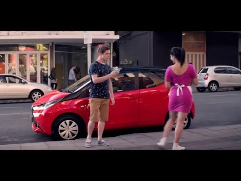 Toyota Aygo South Africa commercial