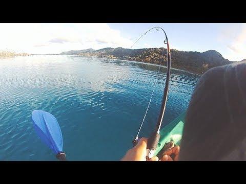 Huahine Island Kayak Fishing - French Polynesia