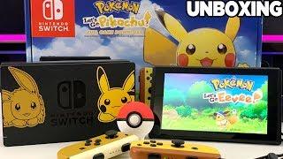 Nintendo Switch Pikachu & Eevee Edition Unboxing