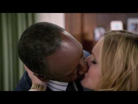 Interracial kiss - House of Lies 2