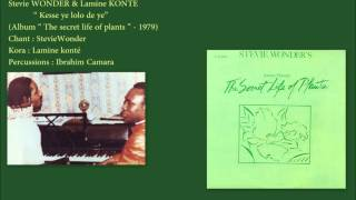 Stevie Wonder & Lamine Konté -
