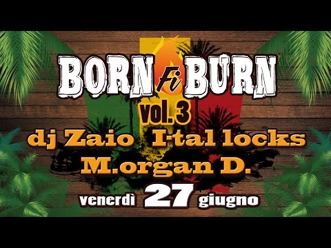 BIG FOOT SOUND: Born fi Burn vol.3 - Dj Zaio-Morgan D.-I-Tal Locks