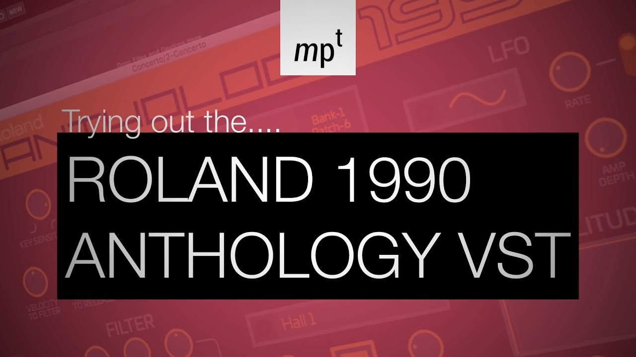 Roland Cloud Anthology 1990 VST Demo in Ableton Live