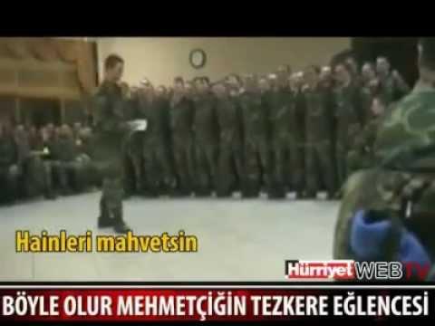 Türk Askerinin Tezkere Eğlencesi