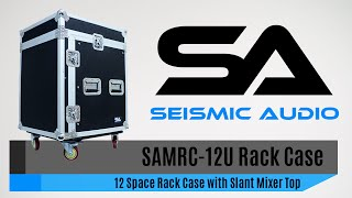 Seismic Audio SAMRC-12U 12 Space Rack Case (Official)