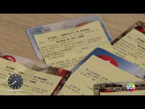 Primeiro Impacto revela esquema de venda de bilhete único em SP | Primeiro Impacto (21/05/18)