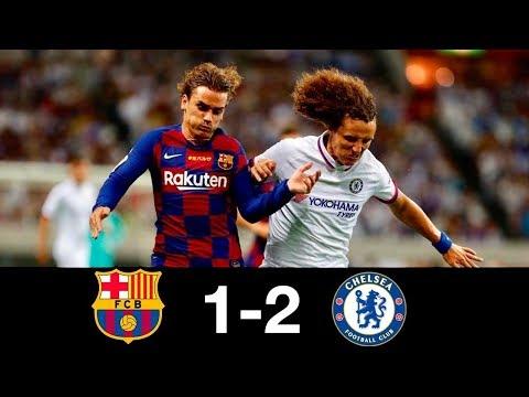Барселона   Челси 1 - 2 Обзор матча Дебют Гризмана