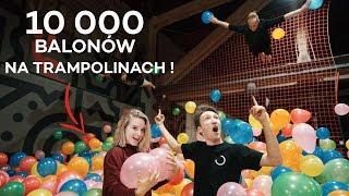 10 000 BALONÓW W PARKU TRAMPOLIN!