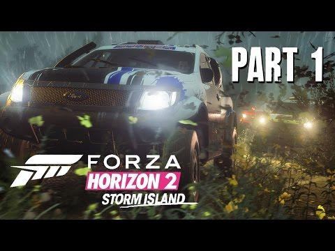 Forza Horizon 2 Storm Island Gameplay Walkthrough Part 1