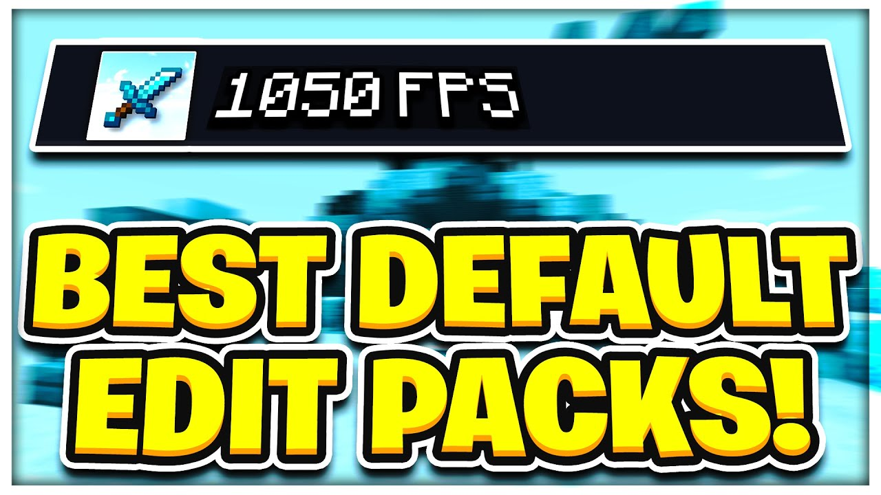 Top 5 Best Default Edit Packs Fps Boost Pvp Texture Pack 1 8 9 Hypixel Minecraft Server And Maps