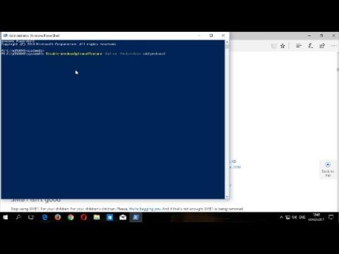 Spybot : Disabling SMBv1 in Windows 10 using Powershell