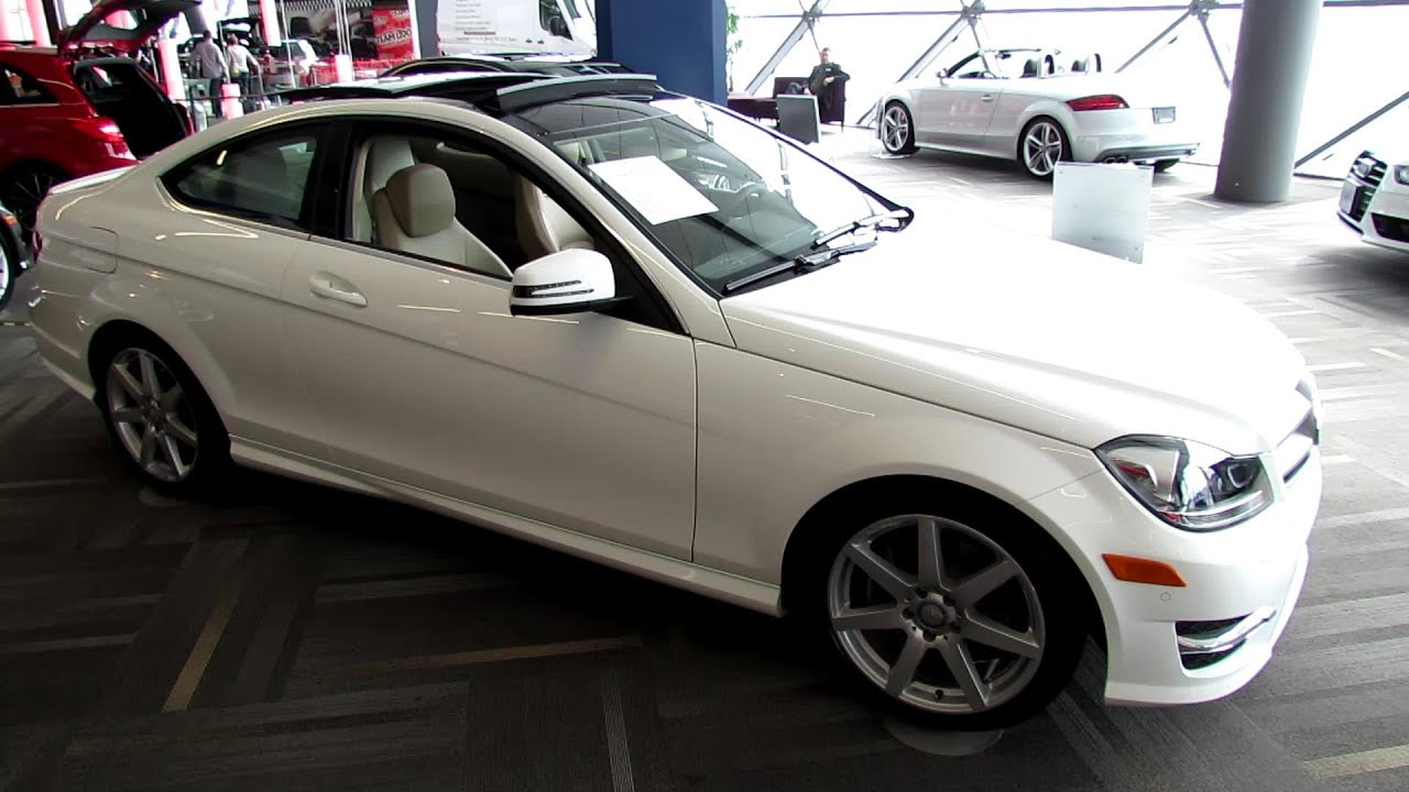 2013 Mercedes Benz C350 4matic Coupe Exterior And