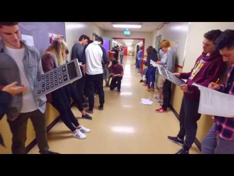High School Mannequin Challenge 1500 Students - Maple Ridge Secondary School