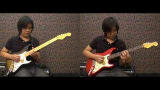 Squier Classic Vibe Stratocaster Review part 1 (Thai)