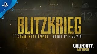 Call of Duty: WWII - Blitzkrieg Community Event Trailer | PS4