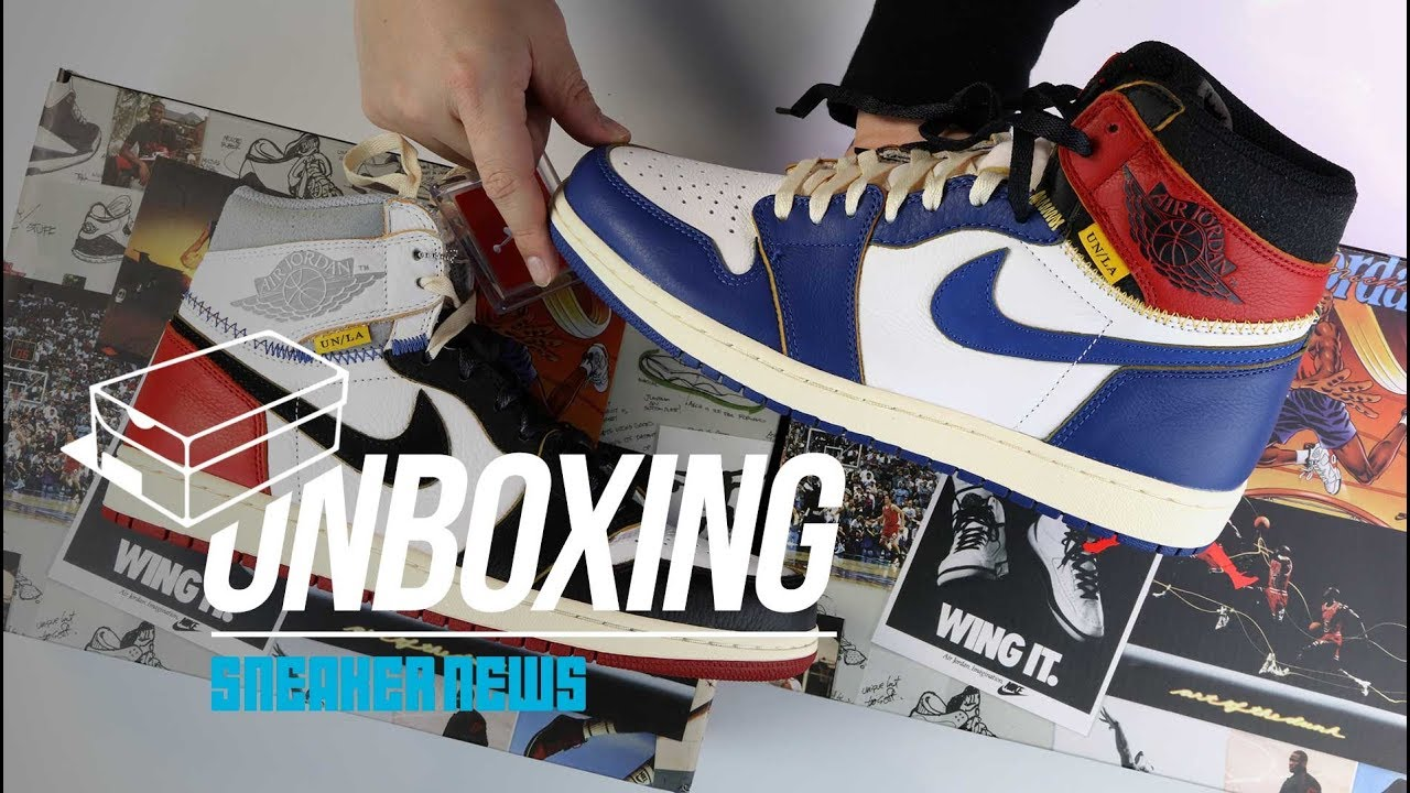 2a7e867dbe58 Union Jordan 1 Unboxing + Review  Air Jordan 1 of 2018   - YouTube