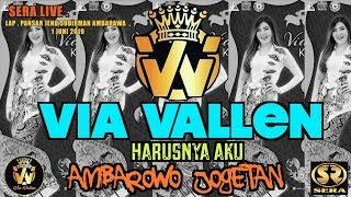 VIA VALLEN - HARUSNYA AKU - OM.SERA( LIVE AMBAROWO 1 JUNI 2019 )HD Best Quality #viavallen #vyanisty